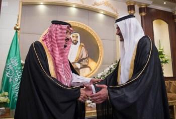 الملك يشرف مأدبة العشاء في الامارات8