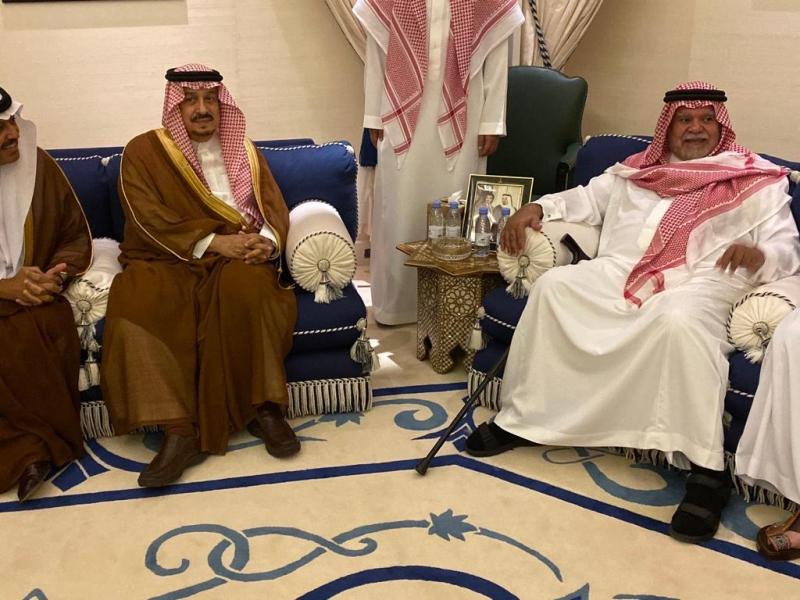 صحيفة المواطن الإلكترونية أمير الرياض يعزي في وفاة والدة الأمير