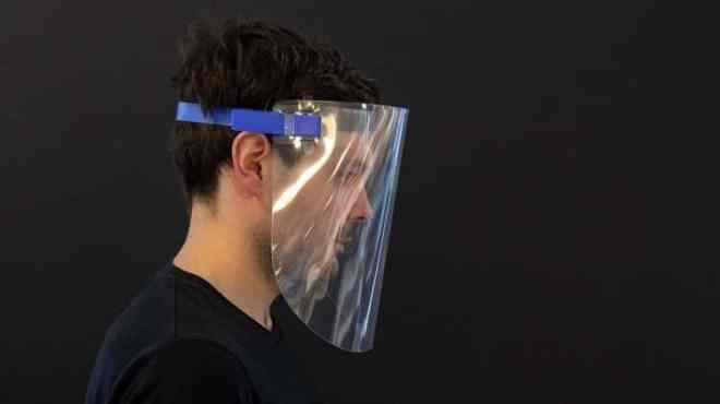 درع الوجه البلاستيكي لا يقي إطلاقًا من كوفيد-19