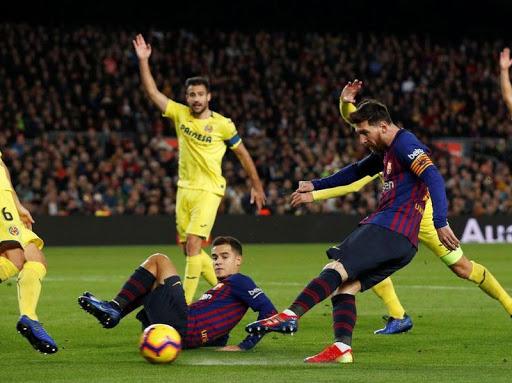 موعد مباراة برشلونة ضد فياريال