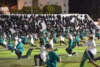 طلاب وطالبات تعليم النماص يحتفون بذكرى اليوم الوطني - المواطن