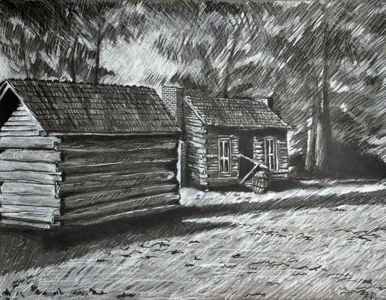 ابداع الرسم بالفحم المرسال
