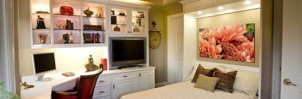 استغلال المساحات الضيقة في غرف النوم المرسال