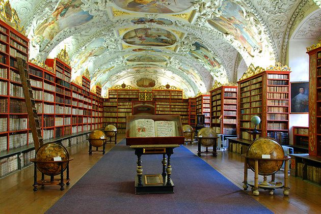The Strahov Monastery and Library