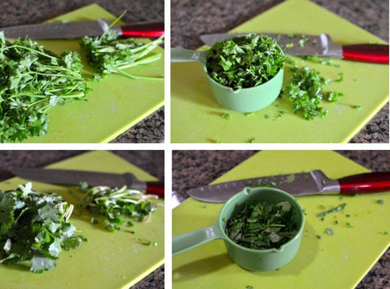 تقطيع الخضروات