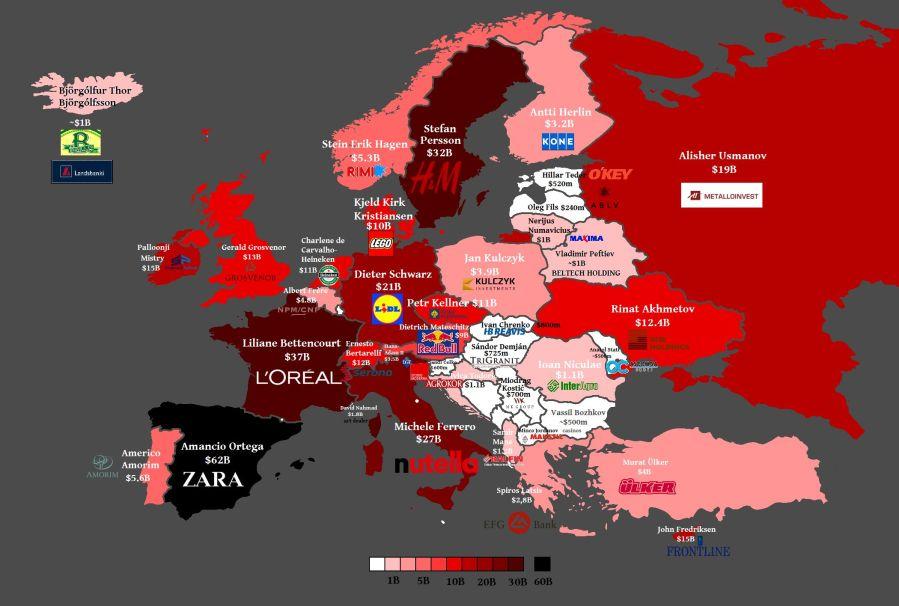 اغنى الدول الاوروبية بالترتيب المرسال