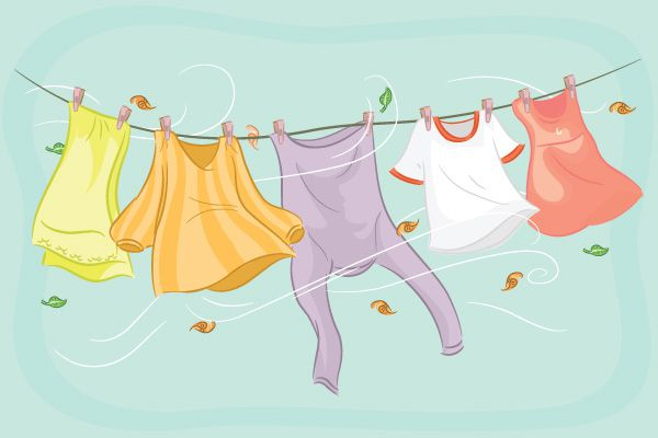 كيف تحافظ على لمعان الملابس المرسال