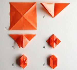 طريقة عمل اشياء بسيطة من الورق بالصور المرسال