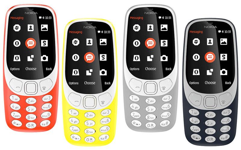 جوال نوكيا 3310 2018 الجيل الجديد يدعم 4g المرسال