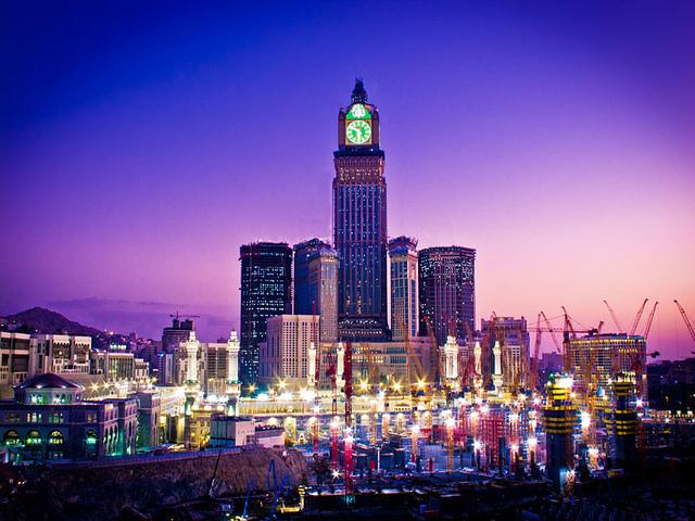 جولة في برج الساعة في مكة من الداخل المرسال