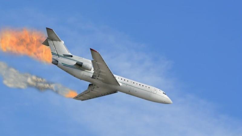 سقوط الطائرة في المنام المرسال