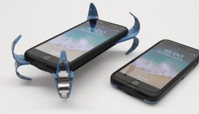 أختراع مذهل قام بة طالب ألماني لحماية الهاتف أثناء السقوط