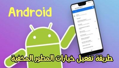 كيفية تفعيل خيارات المطور المخفية في الهواتف الذكية بنظام Android