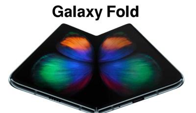 هاتف Galaxy Fold قادم للأسواق في سبتمر المقبل !!! بعد أجراء تحسينات علية