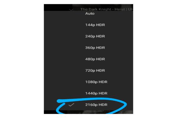 يوتيوب يدعم تشغيل الفيديوهات بجودة 4K