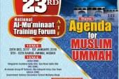 23RD National Al-Mu'minaat Training Forum (ATF), Theme: Agenda for MUSLIM