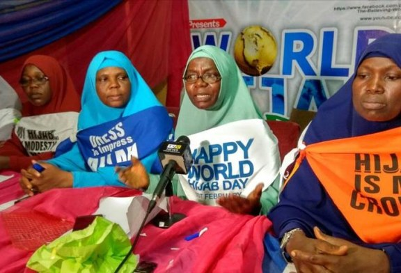 WORLD HIJAB DAY: NIGERIAN WOMEN BODY WANTS HIJAB DISCRIMINATION CRIMINALISED