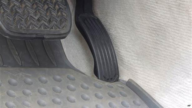 Car Floor Mat Hazards- acceleration pedal block