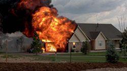 تفسير حلم حريق البيت في المنام