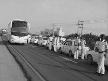 المرور تضع الترتيبات النهائية لافتتاح طريق الإنقاذ الغربي
