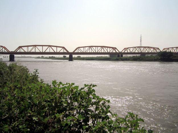 White Nile Bridge Omdurman to Khartoum Sudan