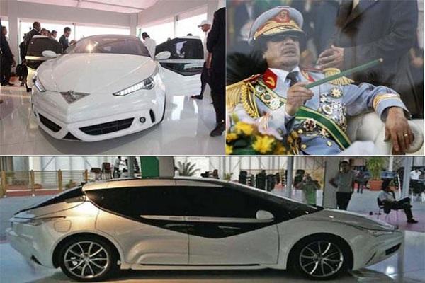 السيارة التي صممها معمر القذافي