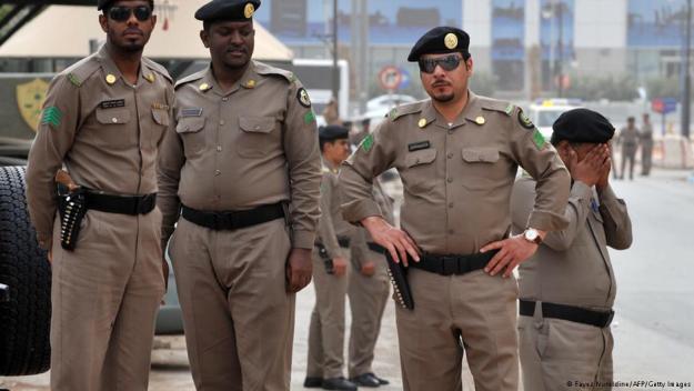 شرطة سعودية