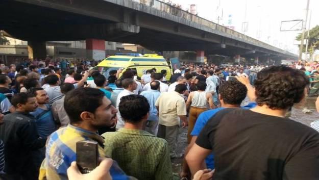 انفجار سيارة ملغومة في القاهرة