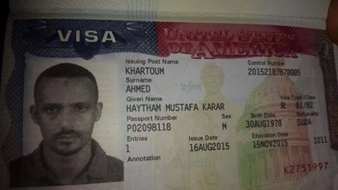 هيثم مصطفي يغادر لأمريكا