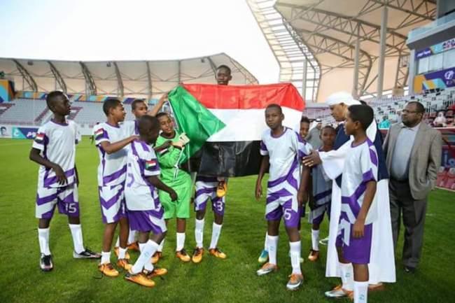 صغار السودان يرفعون اسم الوطن عالياً ويحققون كأس بطولة (ج) بالدوحة