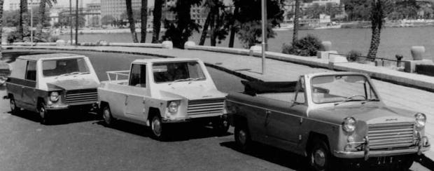 سيارة «مصريّة» أثارت الدهشة في أوروبا