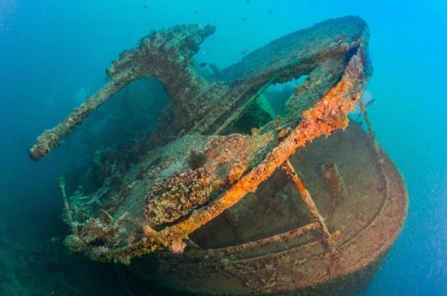 صور مذهلة لسفينة بريطانية غرقت في البحر الأحمر منذ 75 عاما1