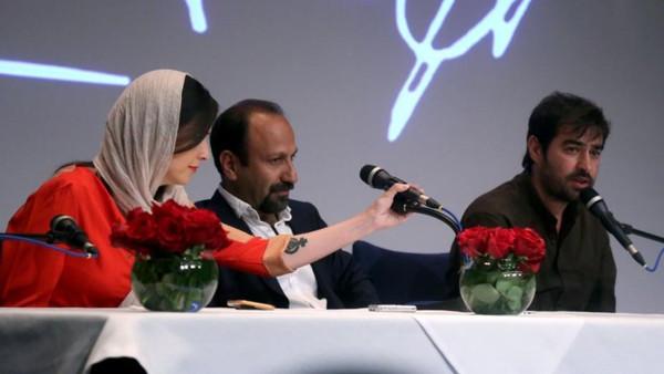 وشم على ذراع ممثلة يثير جدلاً في إيران