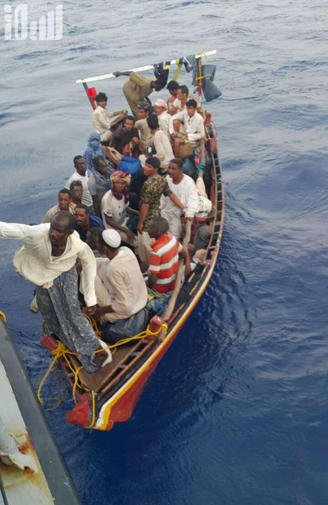 إحباط محاولة تسلل ٦٧ إفريقيًّا قَدِموا من الشواطئ السودانية