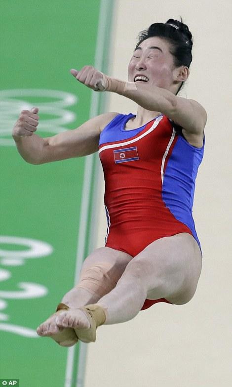 أطرف تعبيرات وجوه لاعبي الأوليمبياد3