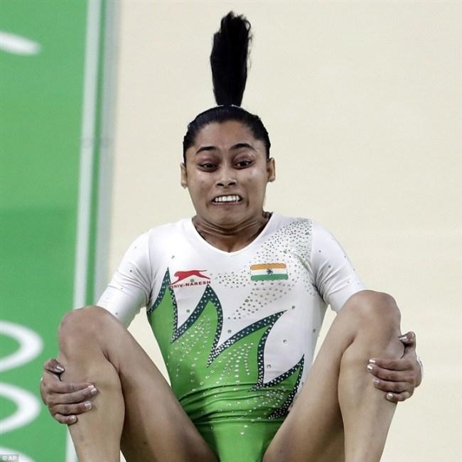 أطرف تعبيرات وجوه لاعبي الأوليمبياد5 - Copy