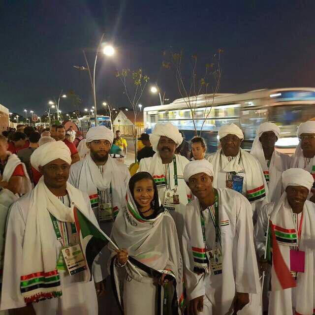 افتتاح الأولمبياد في البرازيل بمشاركة السودان