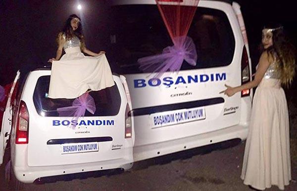 بعد خمس سنوات في المحاكم.. هكذا احتفلت فتاة تركية بطلاقها