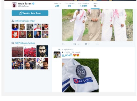 """توران يُثير غضب جماهير برشلونة.. ويُشعل """"تويتر"""" بهذه الصورة!توران يُثير غضب جماهير برشلونة.. ويُشعل """"تويتر"""" بهذه الصورة!"""