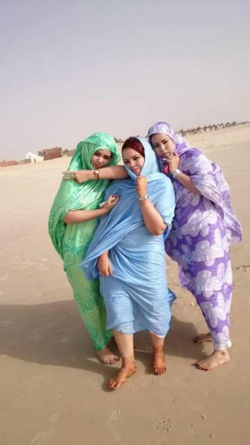 نساء موريتانيا يشعلن صفحات مواقع التواصل السودانية