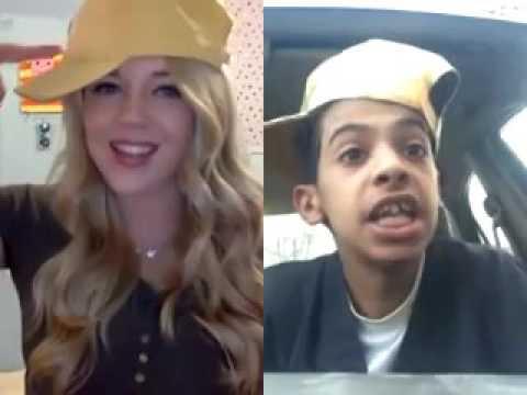 """بالفيديو: أبو سن يتعرف على فتاة أمريكية شقراء جديدة ويرقص معها """"راب"""""""