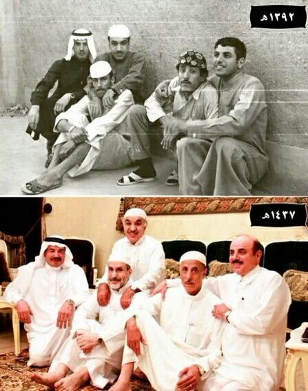 ماذا لو رأيت نفسك بعد 30 عاما.. سعوديون عاشوا التجربة!