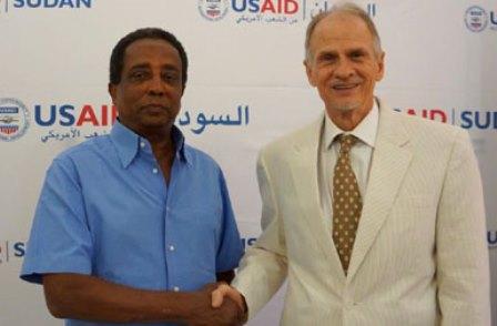 وصول شحنة قمح أميركي لصالح شركة سودانية خاصة