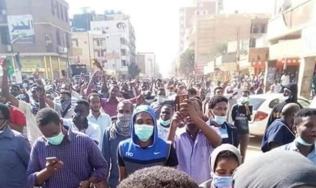 مظاهرات الخرطوم