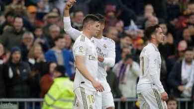 Photo of ريال مدريد يتمسك بلقب الدوري ويواصل سلسلة انتصاراته
