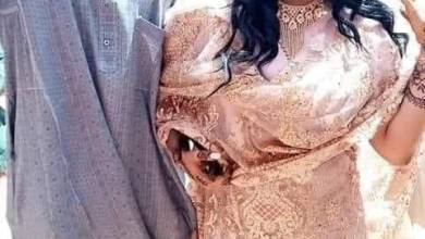 Photo of شاهد بالصور.. حارس مرمى المريخ السوداني وعروسته يشعلان مواقع التواصل الاجتماعي وحفل زفافهما يتصدر المشهد