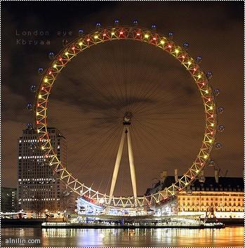 عجلة الزمن :المكان الذي يمكن من خلاله مشاهدت لندن من اعلاء