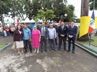São Miguel realiza '7 de setembro' com discursos de otimismo, fanfarras de escolas e encenação da independência do brasil