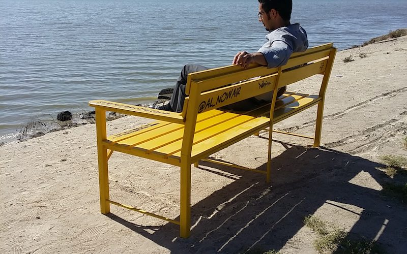 Yellow Benches @nuspics+(1)