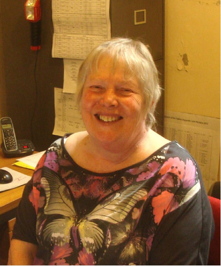 Joan Dunn - Church Secretary